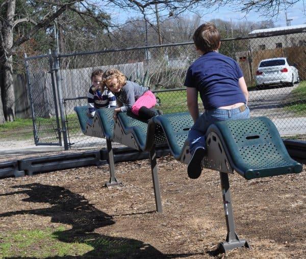 Martin Luther King Park Tomball Balance Beam BigKidSmallCity