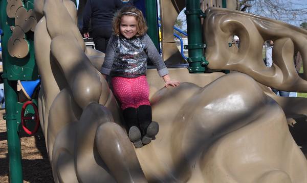 Matzke Park Spring Rock Slide BigKidSmallCity