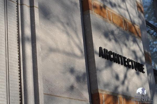 Rice University Architecture Building Bumps