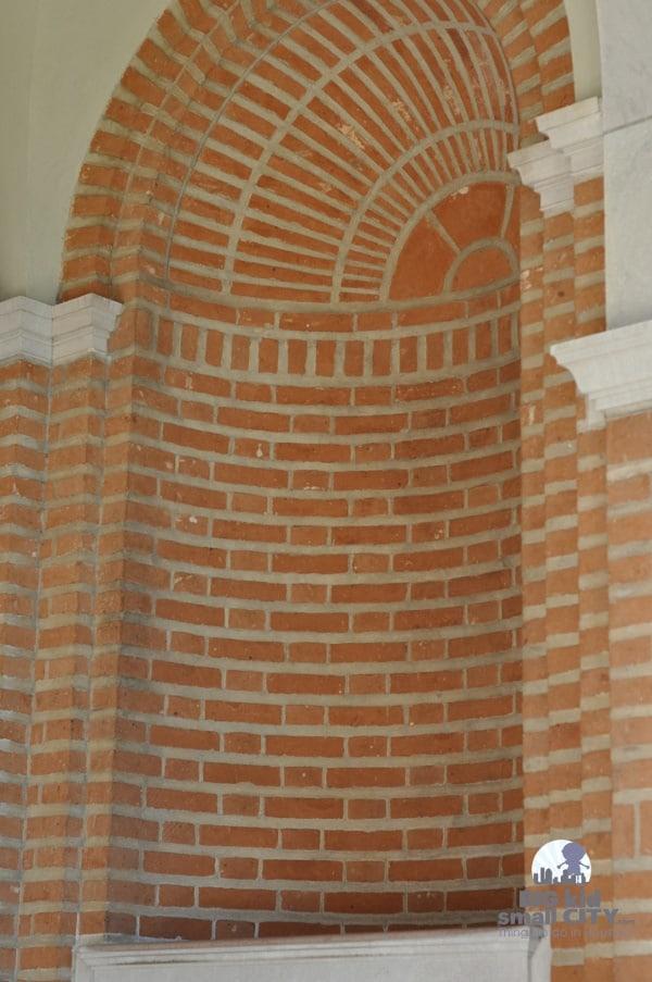 Rice University Herzstein Hall Whispering Niche