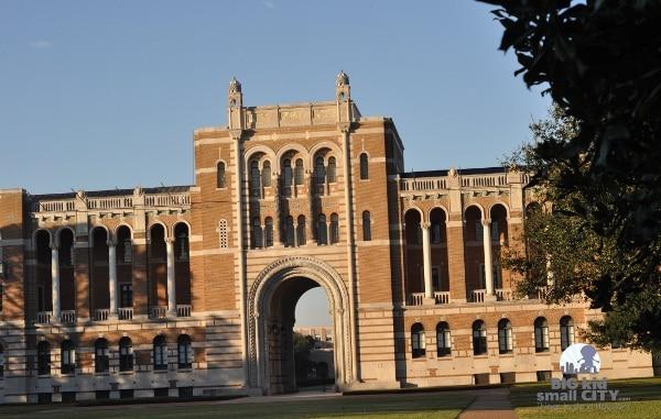 Rice University Lovette Hall at Gate 1