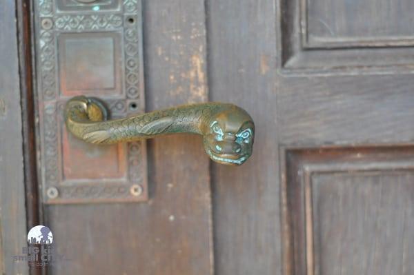 Rice University Physics Building Door Handles
