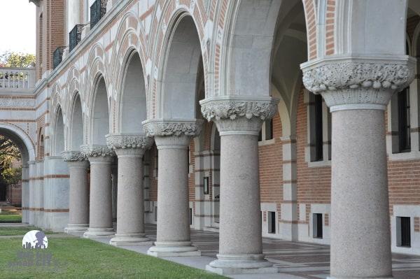 Rice Universtiy Lovett Hall 6 of 12 Columns