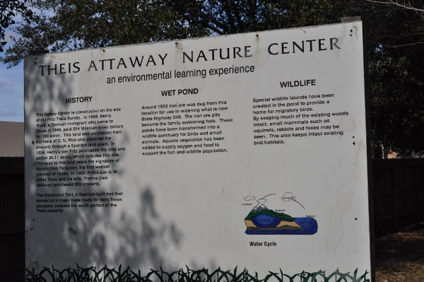 Theis Attaway Nature Park Tomball BigKidSmallCity