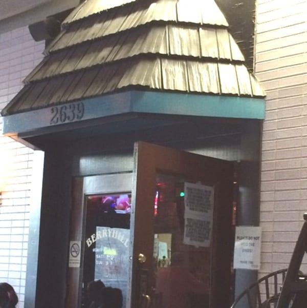 Berryhill Baja Grill Front Door