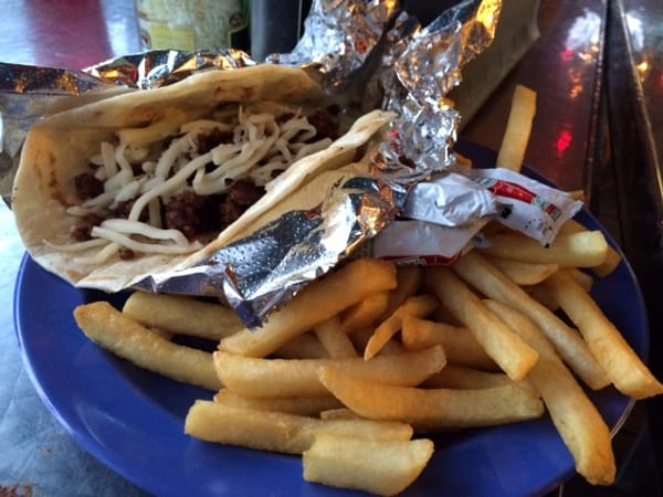 Berryhill Baja Grill Kids Meal