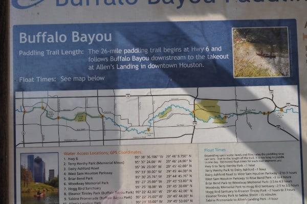 Briarbend Buffalo Bayou Map