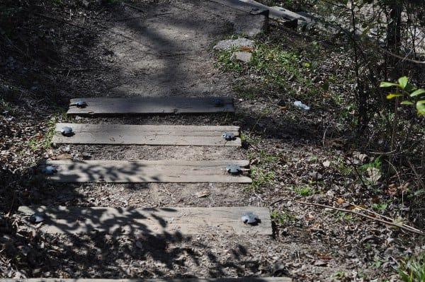 Briarbend Park Path to Bayou