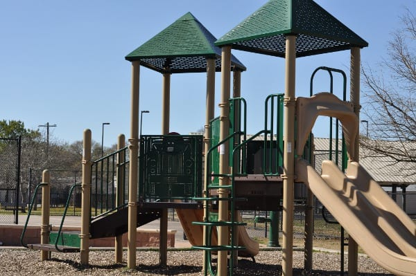 Gail Reeves Park Big Playground