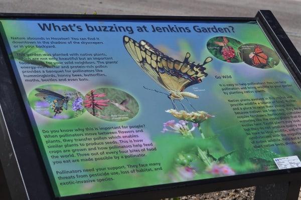 Jenkins Garden Sign