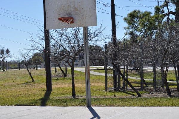 Mills Bennett Park Basketball Court
