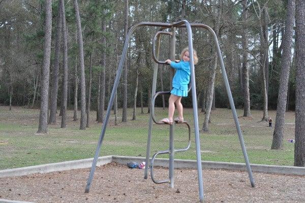 Telge Park Climbing Bars