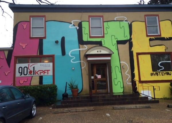 VOTE Mural WIH