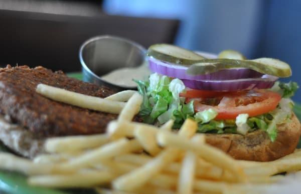 Barnabys Midtown Hempseed Burger
