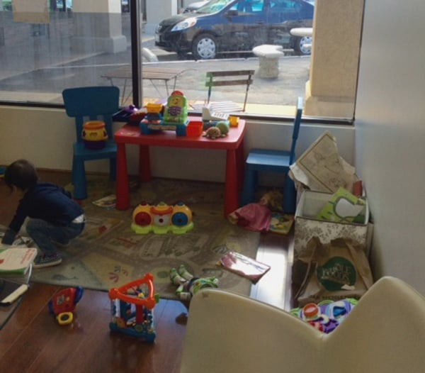 Julies French Pastries Play Room