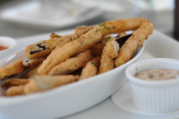 Menil Bistro Eggplant Fries