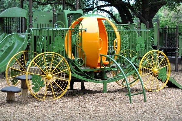 River Oaks Pumpkin Park Restored Pumpkin Carraige