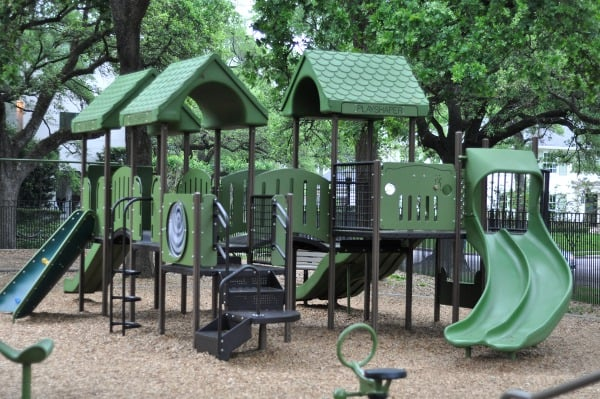 River Oaks Pumpkin Park Small Playground 1
