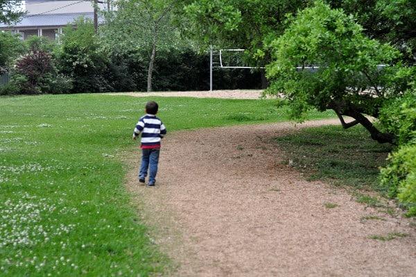 River Oaks Pumpkin Park Trail