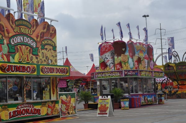 Rodeo Houston Carnival RCS Dining Carts