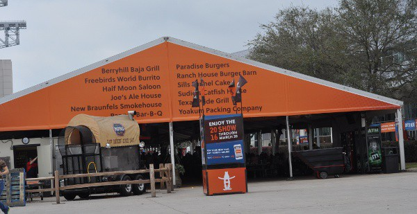 Rodeo Houston Food Tent by NRG Center