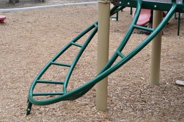 Spring Creek Park Big Playground Circle Ladder