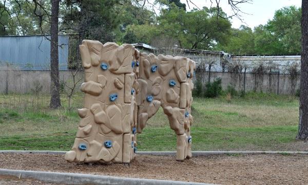 Spring Creek Park Rock Wall