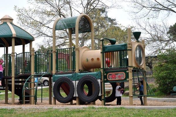 Spring Creek Small Playground Train