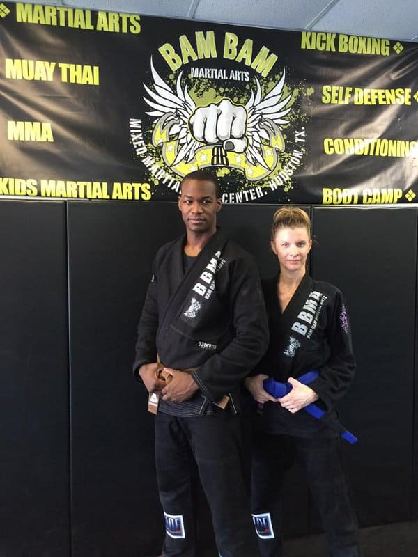 Stacy of Steel Ivy with Bam Bam Martial Arts