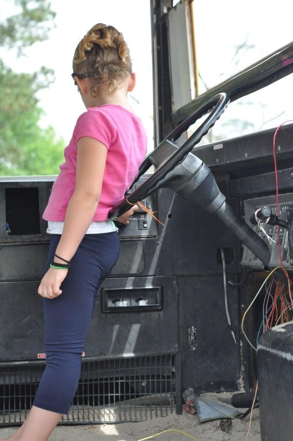The Shack Cypress Bus Steering Wheel