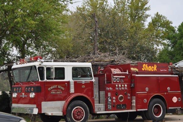 The Shack Firetruck