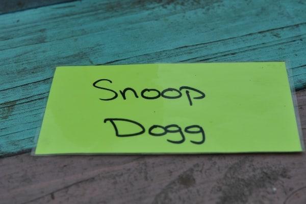 The Shack Snoop Dogg Tag