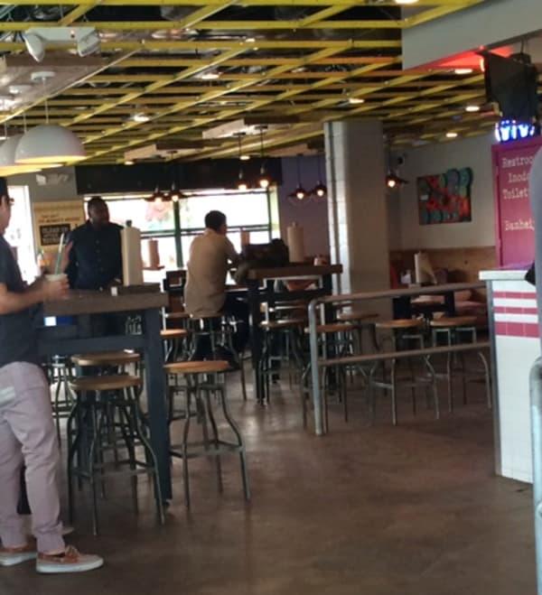 Velvet Taco Inside Restaurant