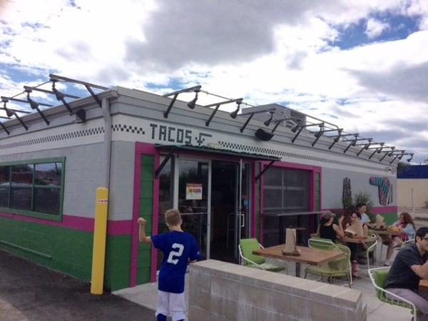 Velvet Taco Outside Restaurant