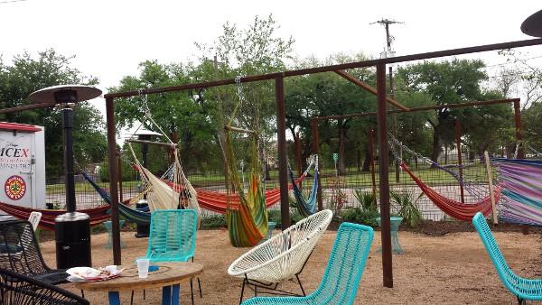 Luigi S Pizza Amp Axelrad Beer Garden Swing At One Of
