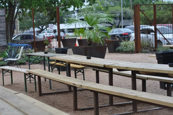 Axelrad and Luigis Picnic Tables