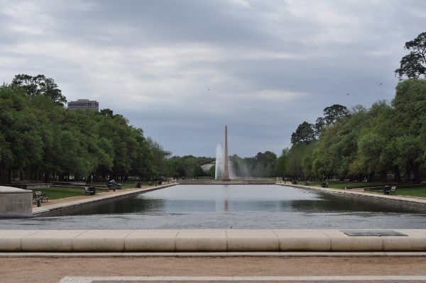 Hermann Park Reflecting Pool