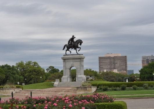 Hermann Park Statue