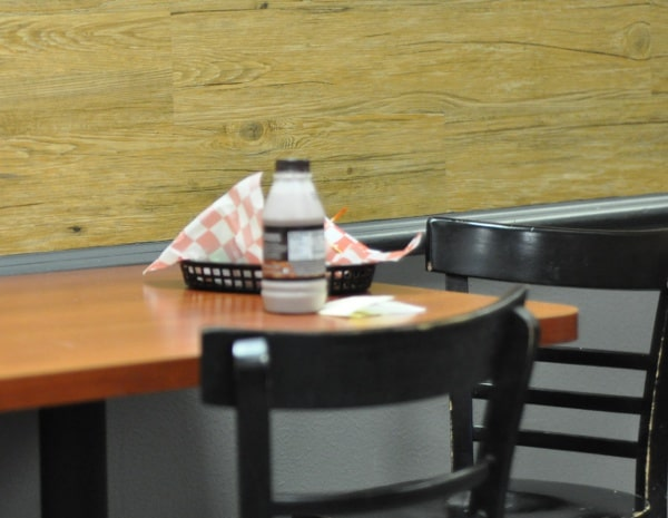 Park Grill Table and Milk