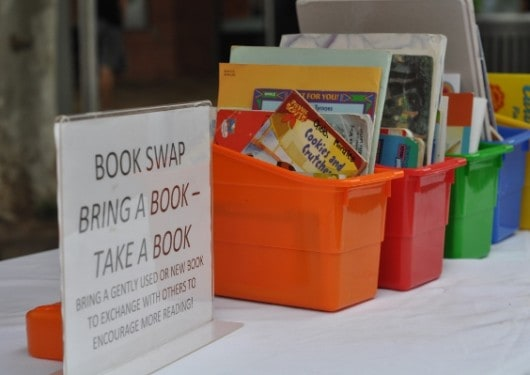 Toddler Tuesday Discovery Green Book Swap