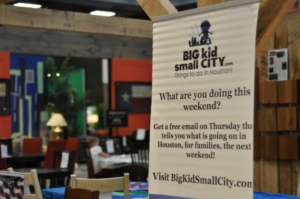 BigKidSmallCity Sign at Gallery Furniture