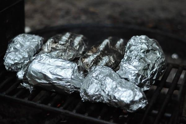 Foil Dinners at Lake Houston