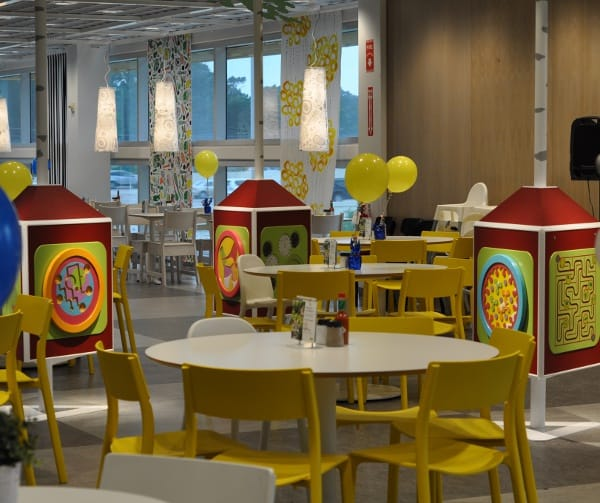 IKEA Houston Restaurant Kid Area