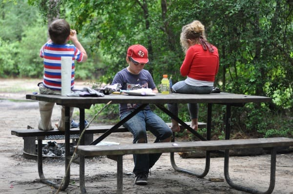 Kids Camping at Lake Houston Wilderness Park BigKidSmallCity