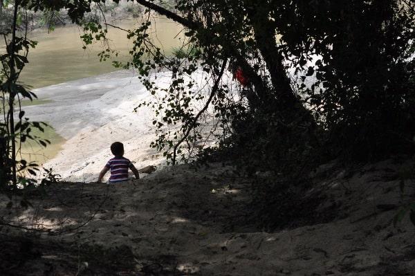 Lake Houston Wilderness Park Fishing Hole BigKidSmallCity