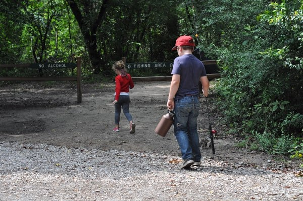 Lake Houston Wilderness Park Fishing BigKidSmallCity