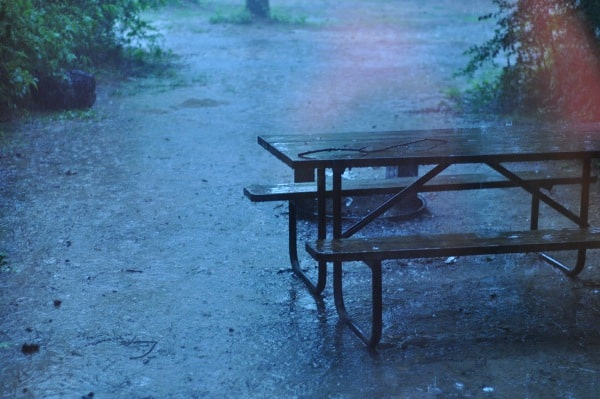 Lake Houston Wilderness Park Rain Storm BigKidSmallCity