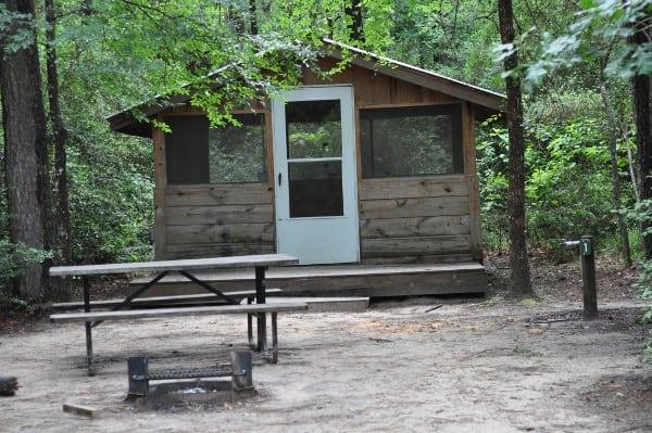 Lake Houston Wildlife Park Screened Shelter