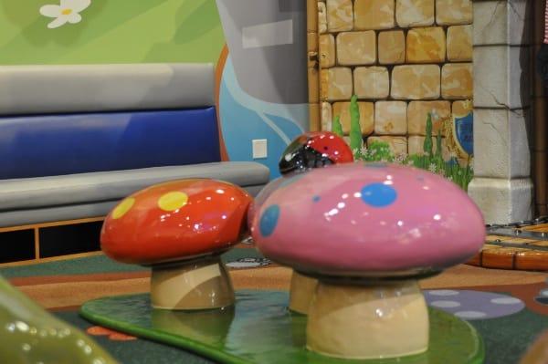 Memorial City Mall Mushrooms