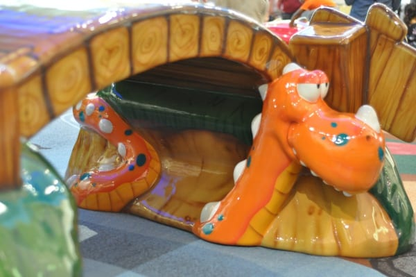 Memorial City Mall Play Area Dragon and Bridge